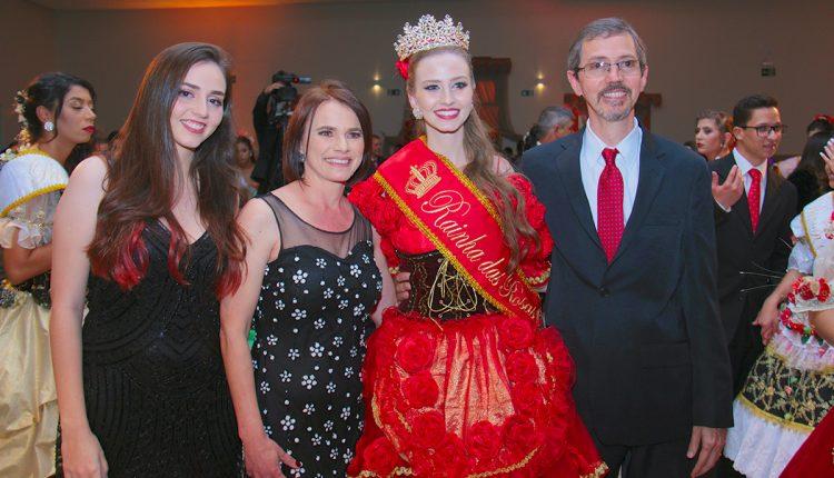 Rainha das Rosas 2018 familia